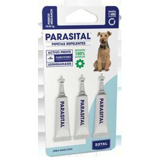 comprar pipeta Parasital antiparasitos perros medianos 3und